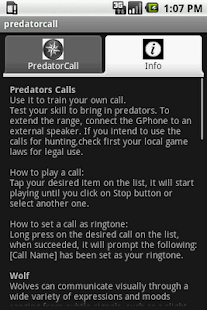 Predator Calls- screenshot thumbnail