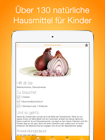 Screenshot of Hausmittel für Kinder