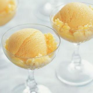 Peach-Mango Sorbet