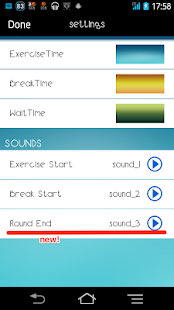 Interval timer HIIT Training- screenshot thumbnail