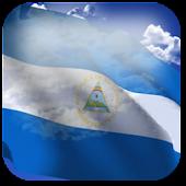 3D Nicaragua Flag LWP +