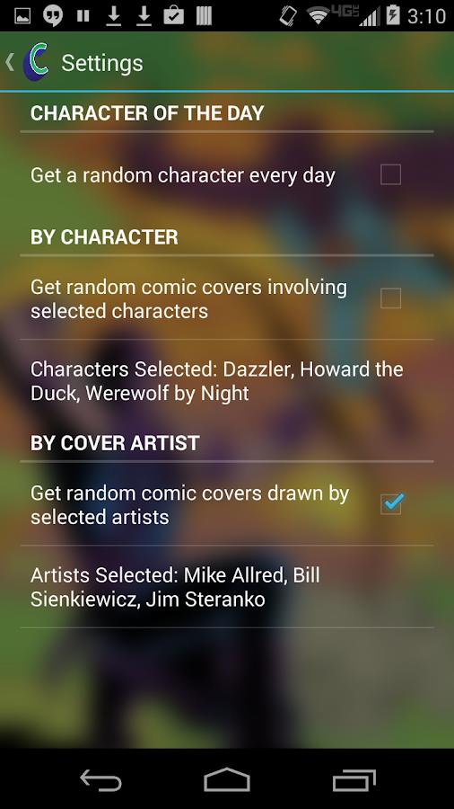 ComicMuzei - screenshot