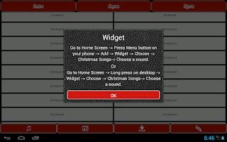 Screenshot of Christmas Songs