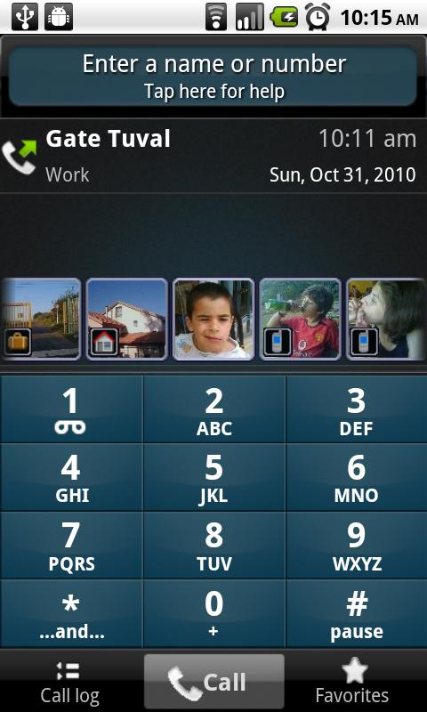 TAKEphONE contacts dialer- screenshot