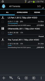 aTorrent PRO - torrent client - screenshot thumbnail