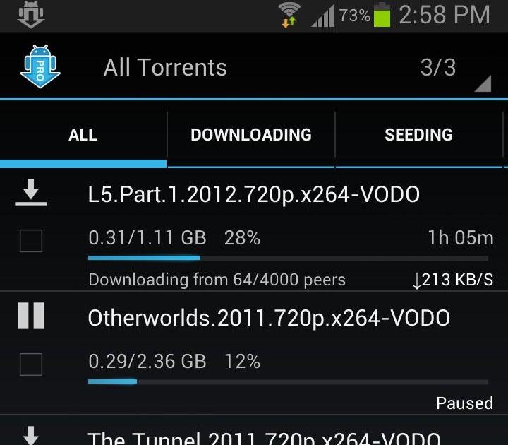 aTorrent PRO – Torrent App v2.0.2.9 Apk Full App   Android APK