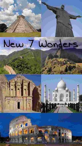 【免費教育App】New 7 Wonders-APP點子