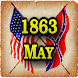 1863 May Am Civil War Gazette icon