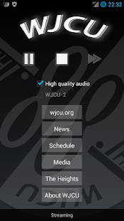 WJCU Radio, 88.7 FM Cleveland - screenshot thumbnail
