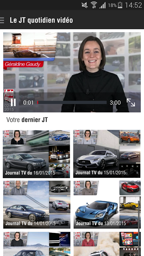 Auto Plus – Capture d'écran