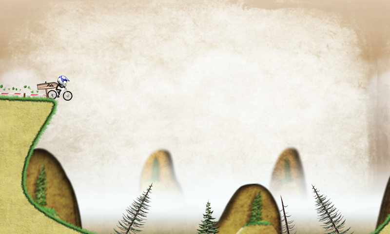 Stickman Downhill - screenshot