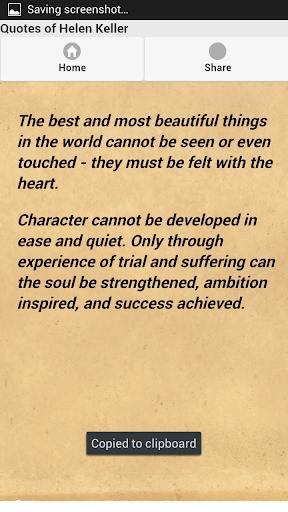 Quotes of Helen Keller