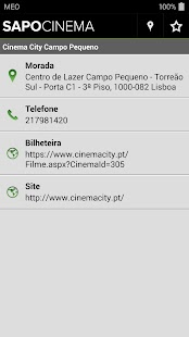 SAPO Cinema - screenshot thumbnail