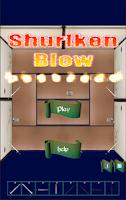 Screenshot of Shuriken Blow