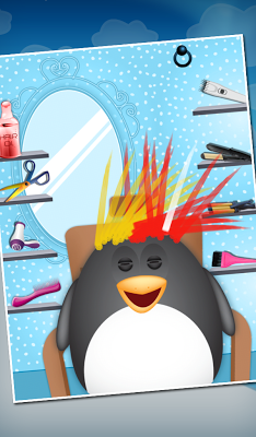 Penguin Hair Salon - screenshot
