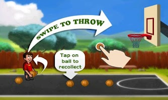 Screenshot of Miami Street - Basketball Game