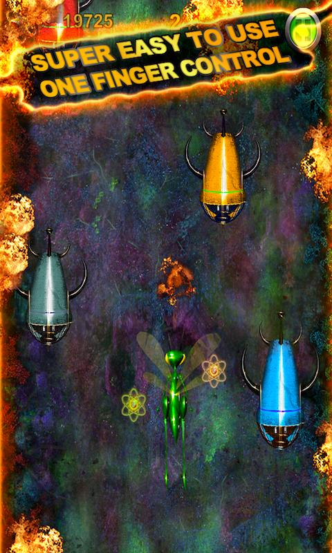 BUGS vs ALIENS Combat Nibiru X- screenshot