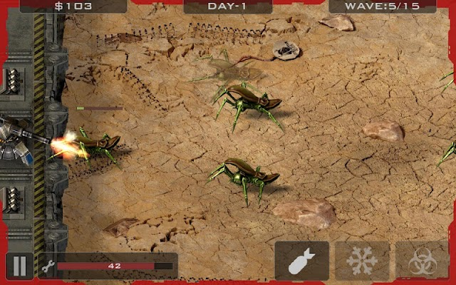 Alien Bugs Defender - screenshot