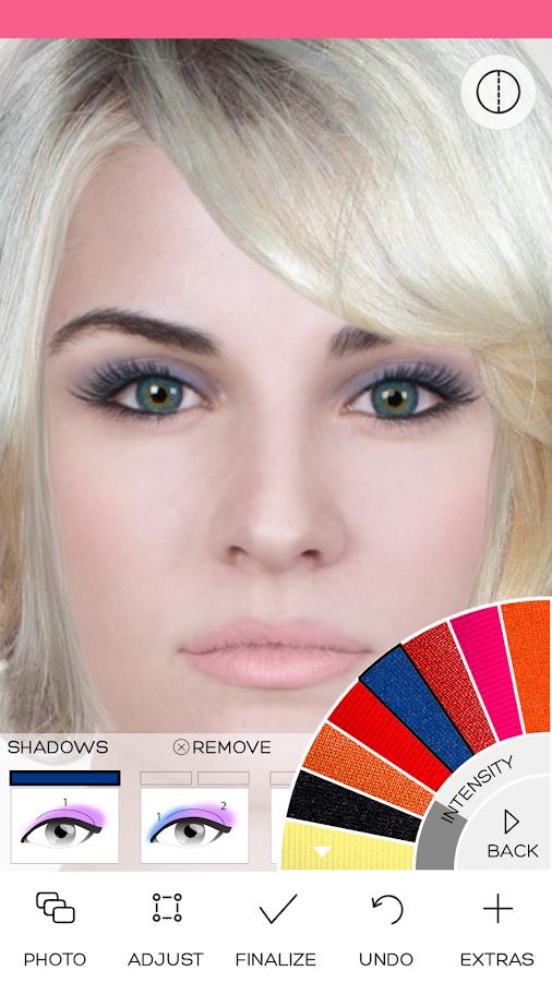 Strange Virtual Makeover Android Apps On Google Play Short Hairstyles Gunalazisus