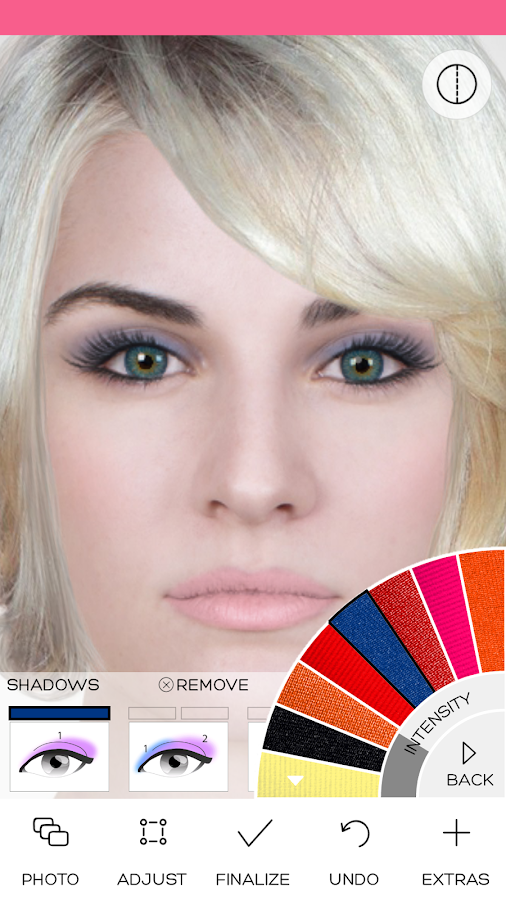 Amazing Virtual Makeover Android Apps On Google Play Short Hairstyles Gunalazisus