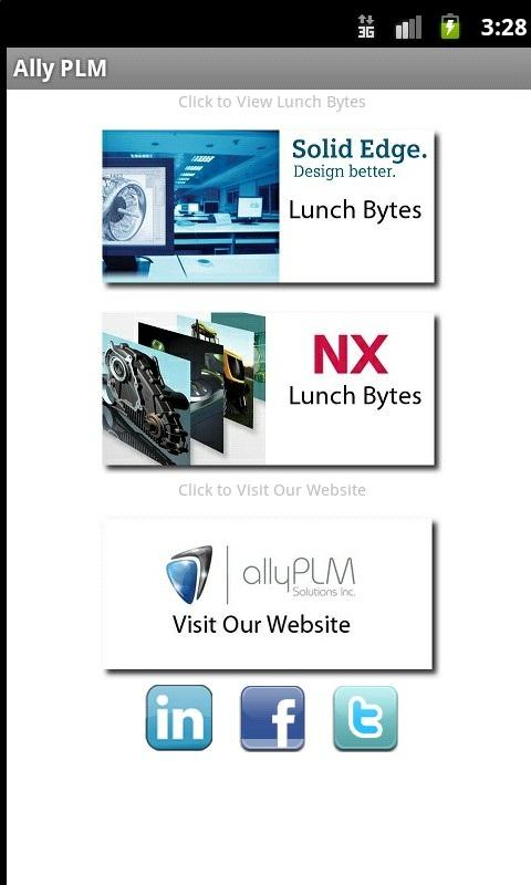Ally PLM Lunch Bytes- screenshot
