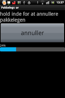 Screenshot of pakkelegs ur