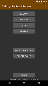 Call Logs Backup & Restore v3.31