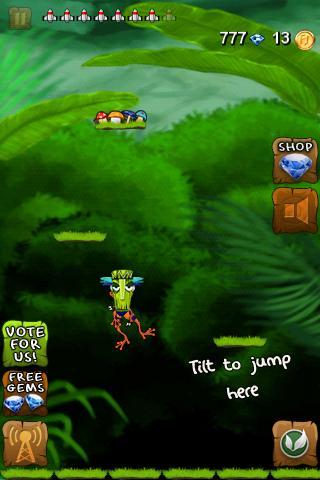 Froggy Jump - screenshot