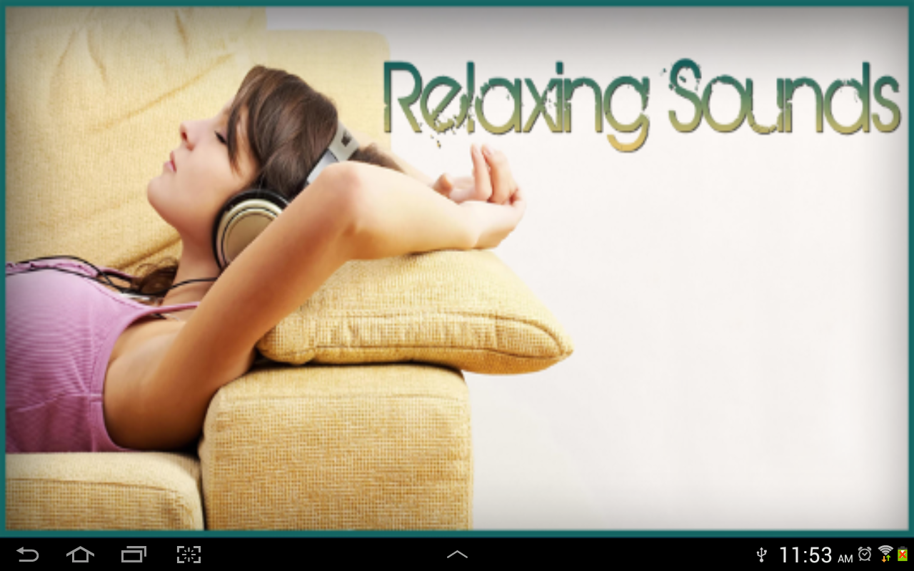Relaxing Sounds - screenshot