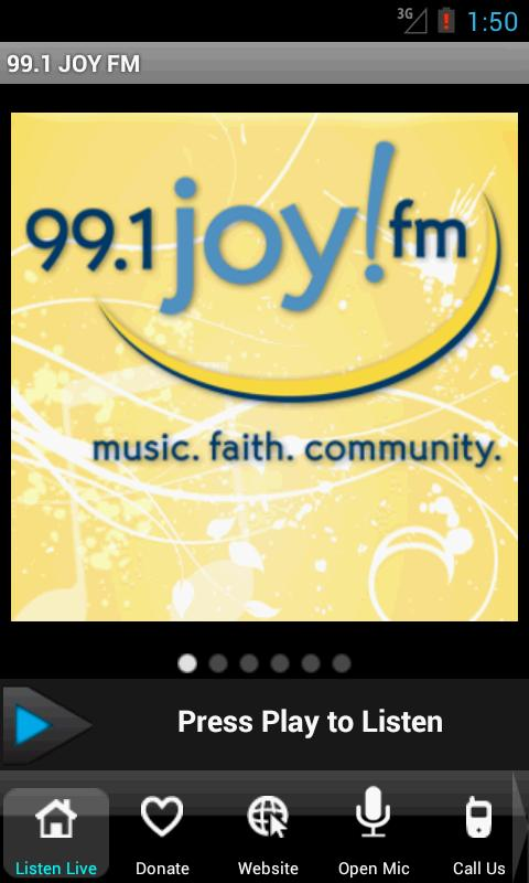 99.1 JOY FM – St. Louis - screenshot