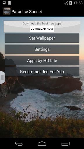 【免費個人化App】Paradise Sunset-APP點子