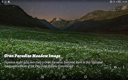National Geographic Muzei - screenshot thumbnail