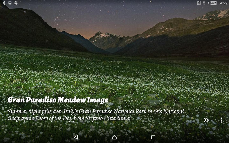 National Geographic Muzei - screenshot
