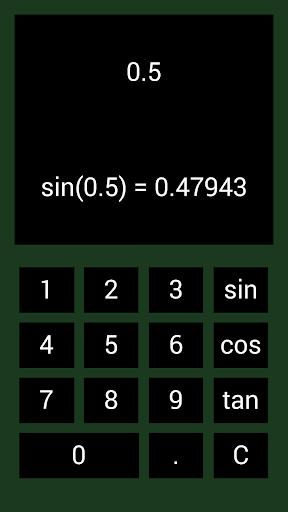 三角関数電卓プロ