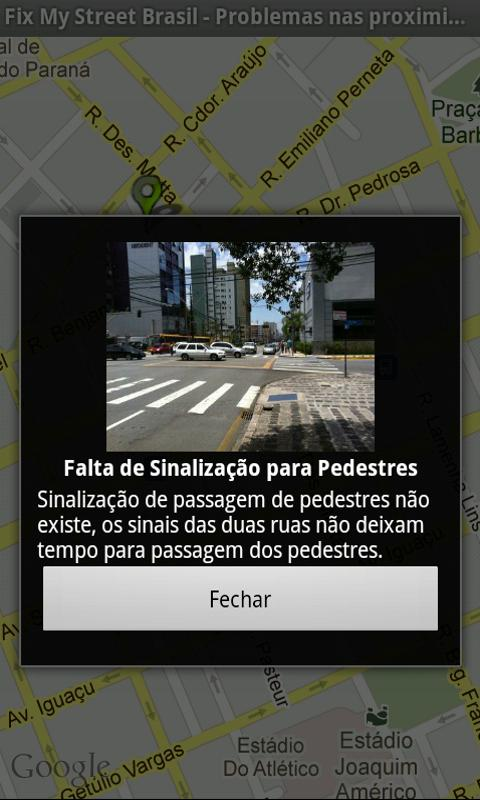 Fix My Street Brazil - screenshot