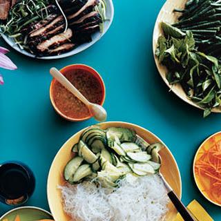 Cellophane-Noodle Salad with Roast Pork