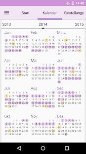 Ovulationskalender App