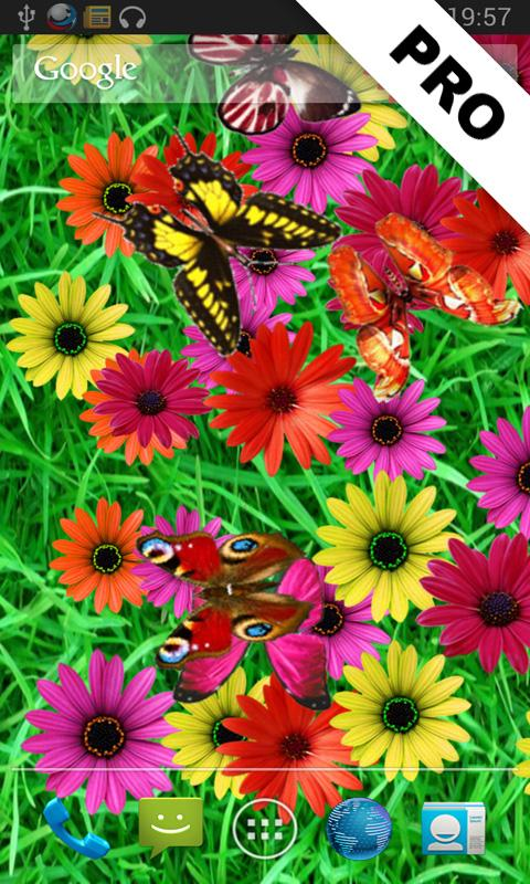 Butterflies LITE LWP- screenshot