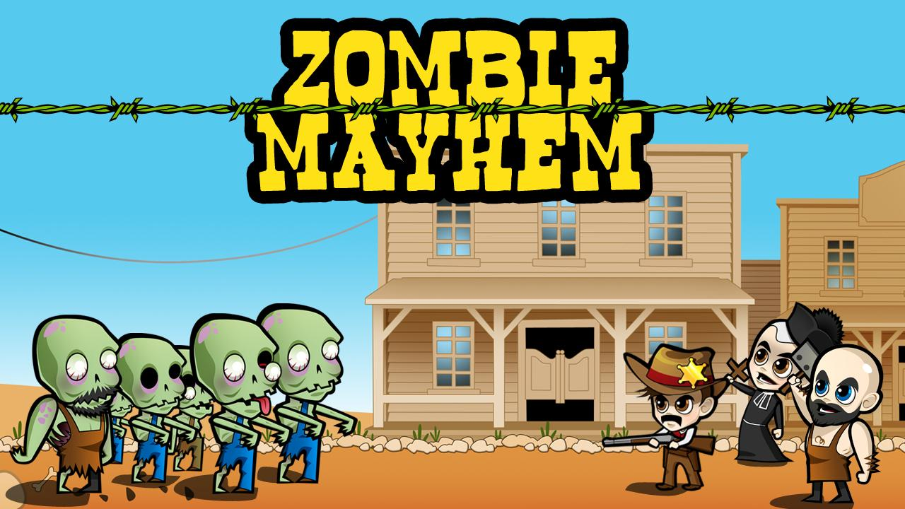 Zombie Mayhem - screenshot