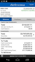 Screenshot of Schwab Advisor Center® Mobile