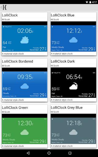 玩個人化App|LolliClock - Kustom LWP Pro免費|APP試玩