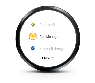 Task Manager For Android Wear - screenshot