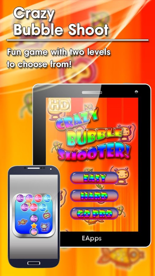 Crazy Bubble Shooter - screenshot