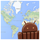 Android KitKat Map
