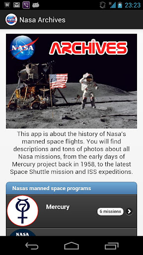 [App Android] Nasa Archives