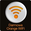 Darmowe Orange WiFi icon