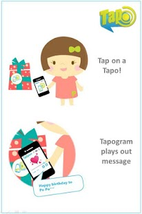 Tapogram, Voice on NFC - screenshot thumbnail