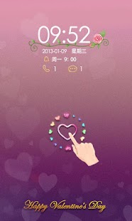 B-Forever Love GO Locker Theme - screenshot thumbnail