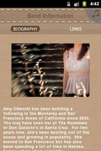 Amy Obenski - screenshot thumbnail
