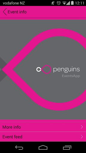 Penguins EventsApp
